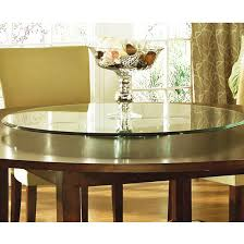 steve silver avenue table top lazy susan 40 round triple edge glass kitchensource com