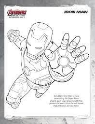 Disegni Da Colorare Degli Avengers Iron Man Blogmamma It Avec