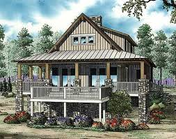 raised house plans. Plan 59964ND: Low Country Cottage House Raised Plans H