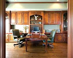 two person office desk. Home Office Double Desk Stylish Two Person