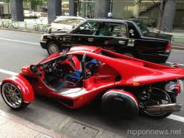 cagna t rex vehicle spotted in tokyo