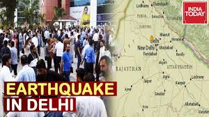 19 / 8 °c wind: Earthquake Tremors Felt In Delhi Ncr And Several Parts Of North India Youtube