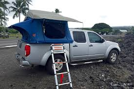2005 nissan frontier 4wd crew cab motor home truck camper rental in nissan frontier camper tent at Nissan Frontier Camper