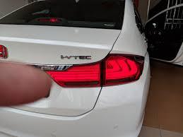 Honda City Led Tail Light Car Accessories Electronics Lights On