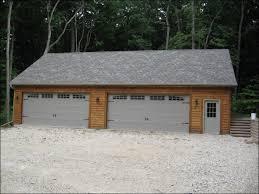 18 foot garage doorFront View of Custom 50 X 30 Garage  JD Griffiths Milwaukee