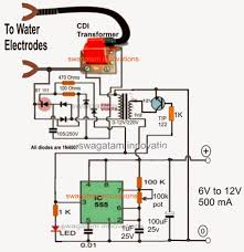 how to generate hho gas efficiently at home full tutorial pwm hho geneartor high voltage circuit using cdi transformer