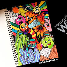 Art Doodle The Finished Look Doodle Art Learnart