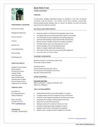 Samples Of Resumes For Accounting Jobs Resume Resume Examples