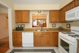 granite countertops white kitchen appliances