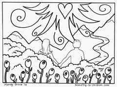 Find more garden of eden 600x737 printable adam and eve coloring pages for kids. Adam And Eve Coloring Pages Free Printable