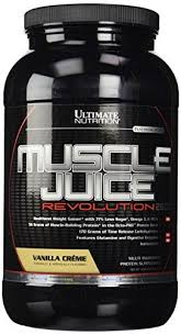 ultimate nutrition muscle juice revolution 2600 vanilla cream 4 69 pound by ultimate nutrition