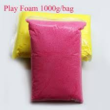 1000g bag light soft clay play foam fimo polymer clay playdough modeling magic diy air