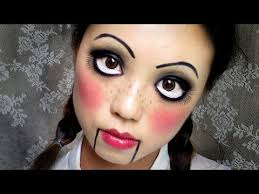 how to do big eyes makeup for because dolls are delightfully creepy