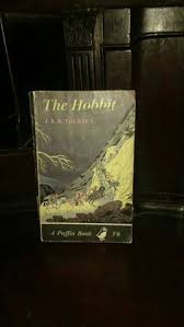 first edition puffin paperback of the hobbit by j r r tolkien 1961 vine book vine children s book fantasy clic by thebohemianbook on