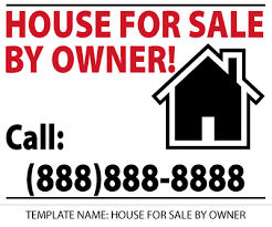 Real Estate Sign Templates Big Daddys Signs