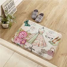 Kitchen Floor Pad Popular Floral Door Mat Buy Cheap Floral Door Mat Lots From China