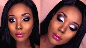 affordable makeup tutorial for dark skin 2017 sultry purple smokey eye