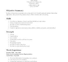 Receptionist Resume Objective Receptionist Resumes Samples Resume