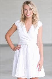 eyelet dress cute white summer dress