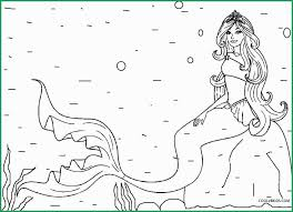 Mermaid Coloring Pages For Adults Printable Inspirational Printable