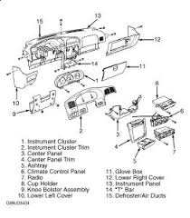 2005 kia sportage exhaust smell when the heater has been on it s a big job requires removal of instrument panel see diagram