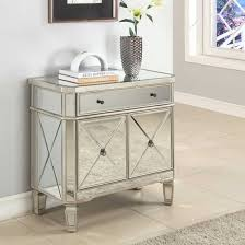 distressed mirrored furniture. End Tables:Mirrored Accent Table With Drawers â\u20ac\u201d Montserrat Home Design Awesome Distressed Mirrored Furniture W
