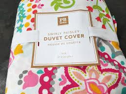 swirly paisley duvet cover sham large size