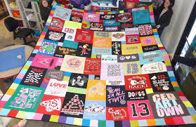 Youtube T Shirt Quilt - Best Accessories Home 2017 & T Shirt Quilts For Quilt Ideas 6 Out Of The Box Adamdwight.com