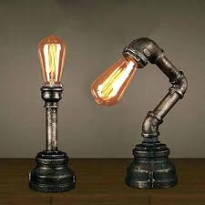 steampunk chandelier table lamp steam punk floor home design ideas interesting lamps