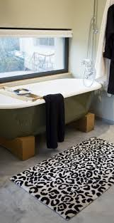 edge abyss bath rugs habidecor leopard rug and egyptian cotton