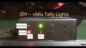 Vmix Tally Light Set How To Set Tally Lights Vmix 19 Pro By F Studio Production