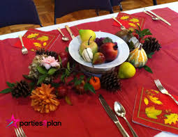 Fall Table Scapes Tablescape Fall Table Decorations For Group Luncheon Parties2plan