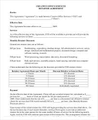 retainer consulting agreement 47 consulting agreement samples word pdf
