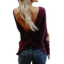Hot Sale! Ladies 2018 Fall Fashion Sexy Backless ... - Amazon.com