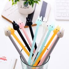 1pc Jelly Totoro Cute Gel Pens Cartoon Creative Pens Colored Pens
