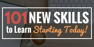 professional skills to develop list learn something new 101 new skills to learn starting today