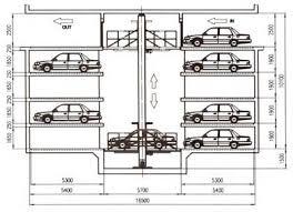 basement parking section. Perfect Parking Work Principle Throughout Basement Parking Section A