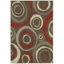 Small Picture Home Decorators Collection Orbit Mushroom 4 ft x 6 ft Area Rug