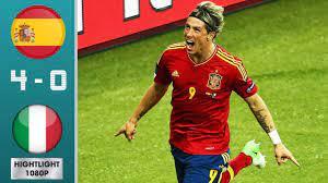 Spain vs Italy 4-0 Highlights & Goals ...
