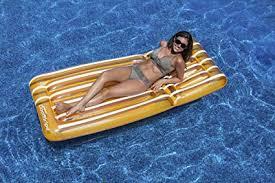 Swimline Cool Stripe Mattress Pool Float: Toys & Games - Amazon.com
