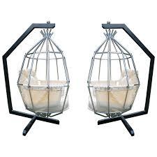 modern birdcage fantastic hanging parrot mid century modern birdcage chair for
