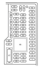 toyota prius fuse box diagram toyota ford focus mk3 2011 2015 fuse box diagram auto genius