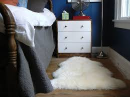 not sure why i made my bed such a backwards way but anyway the sheepskin looked really nice until bob i could end just about any sentence that way until