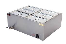 countertop 6 pot bain marie fast food snacks commercial food warmer images