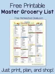 Printable Pantry List Insightsonline Org