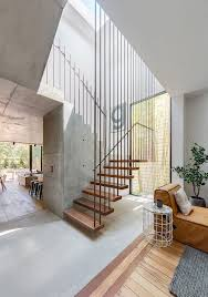 Small contemporary painted l-shaped staircase idea in London