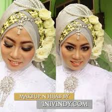 make up and hijabstyle for akad nikah