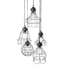 huang wire 5 light pendant reviews joss main 5 light pendant lucide arthur 5 light bar