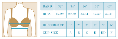 how to measure breast size fifth house bra fitting guide