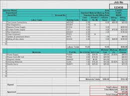cost spreadsheet for building a house materials cost estimator sheet